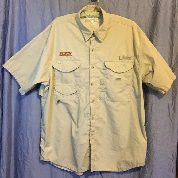 XL Busch Beer Fishing Shirt
